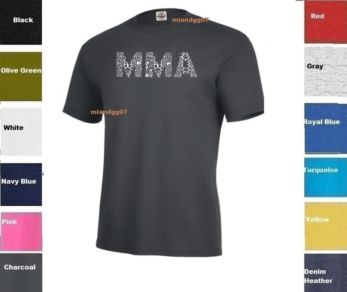 4968b935fed Mixed Martial Arts T Shirt MMA Training Fitness Exercise Gym Shirt SZ S 5XL  2018 Short Sleeve T Shirt Men Fashion Brand Design 100% Nerd T Shirts  Design ...