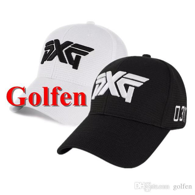 2019 New PXG Golf Hat Caps Breathable With Top Outdoor Sports Hats Letters  Embroidery Adjustable Golf Ball Cap For Man Women From Golfen 8707510feb0
