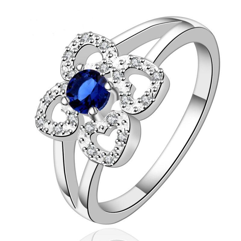 Grosshandel Gemston Ringe Diamant Verlobungsringe Modeschmuck 925