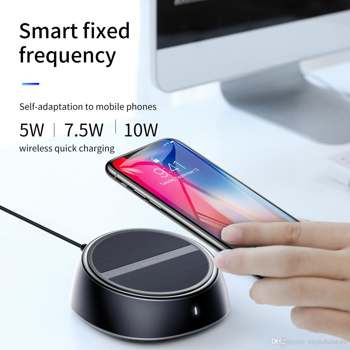 Baseus Star Sky 2 In 1 Desktop Wired Wireless Charger 3 Usb Ports Prevent Over Charging Anti Slip For Iphone Ipad Ipod Samsung Huawei Online With