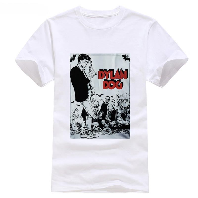 T Italiano Acquista Comic Shirt Horror Dylan Dog Cool 1986 2I9DHEW