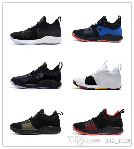 newest collection 07caa 15cf1 Acquista Hot Selling Nike PG 2 EP 2018 Nuovi Colori Paul George 2 Scarpe Da  Basket Economici Top Quality PG2 1 All Star Playstation Multicolor PG 2s  Scarpe ...