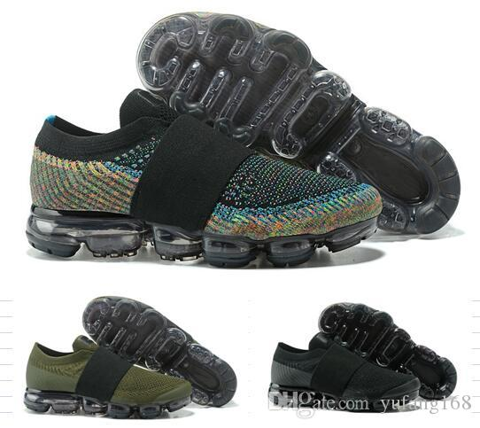 low shipping fee for sale 2017 New Rainbow black Vapormax 2018 Men Woman hot sale casual Shoes For Real Quality Fashion Man Casual Vapor cheap with box without box free shipping comfortable ISyD29IuM