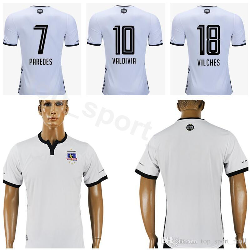 2019 FC Colo Colo Soccer Jersey 2018 2019 Chile Club Men 28 CAMPOS 22  ORELLANA 23 BAEZA 4 ZALDIVIA Football Shirt Kits Uniform From  Dickssportinggoods 0034aaf74
