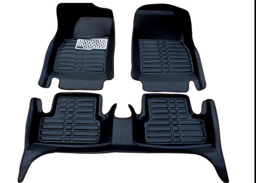 Honda Civic Floor Mats >> For Honda Civic 2014 Liner Waterproof Mat Fly5d Car Floor Mats Front Rear