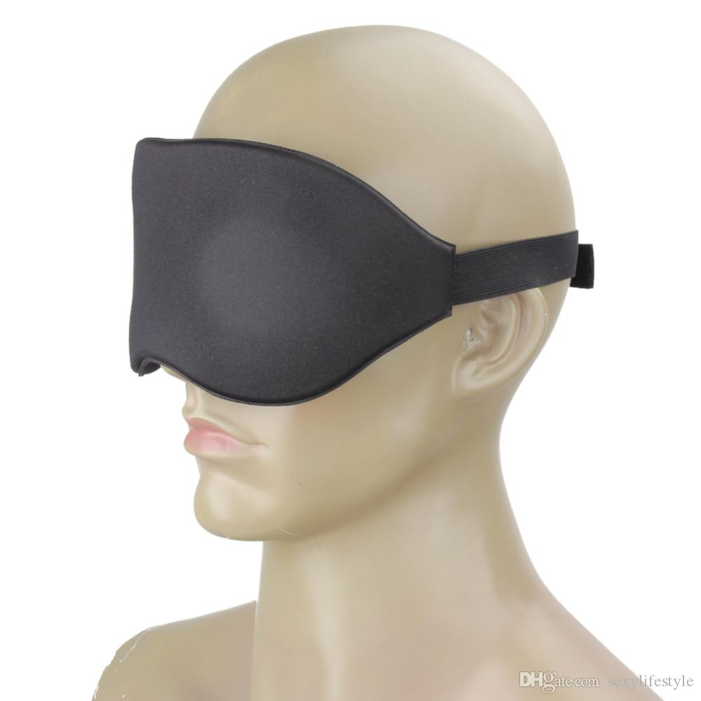 Eyeshade السفر النوم العين قناع 3D رغوة الذاكرة مبطن غطاء الظل النوم الغمامة لقناع النوم مكتب