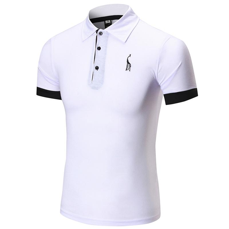 1570ed40251 2019 New 2018 High Quality Men S Embroidery Polo Shirt For Men Designer  Polos Cotton Short Sleeve Shirt Brands From Zenan
