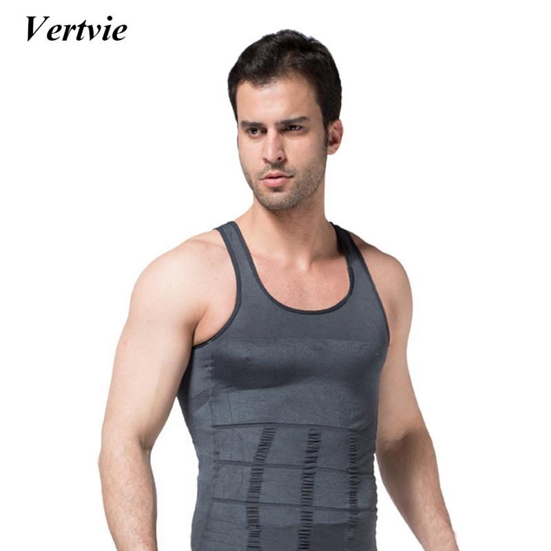 f05a2fa51cfee 2019 Vertvie Men Bodybuilding Tank Top Running Tank Vest Top Running Tight  Tanks Elastic Run Sportswear Tops Vest From Bingquanwat