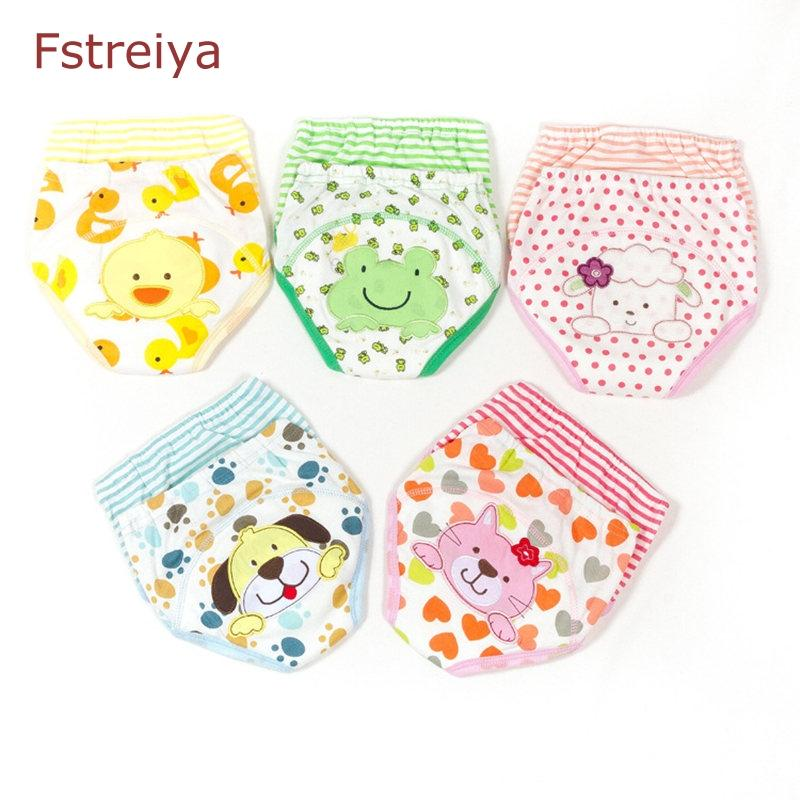 2019 Baby Potty Training Pants Nappies For Toddler Girls Cotton Cloth Diapers Panties Washable Reusable Boys Diaper From Phononame 3588