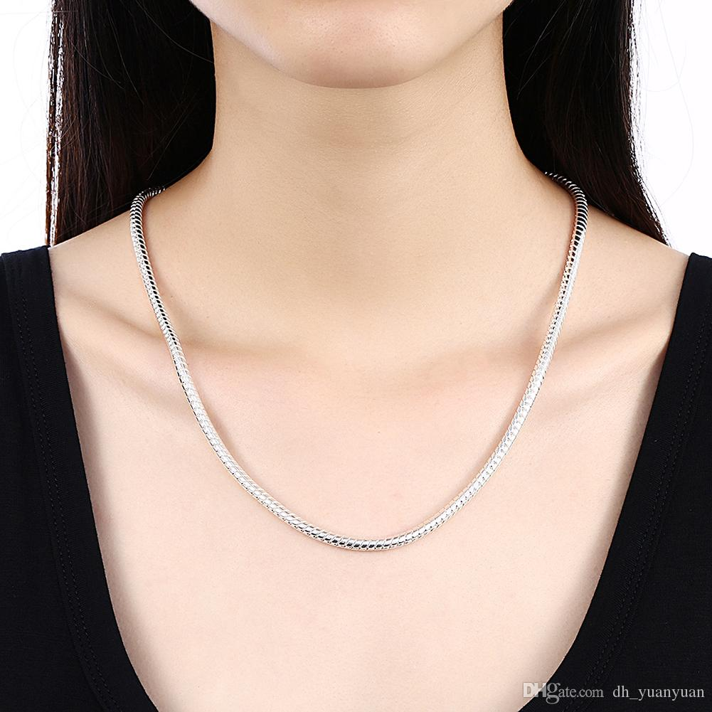2019 Fashion Jewelry 100 Stainless Steel Necklace Round
