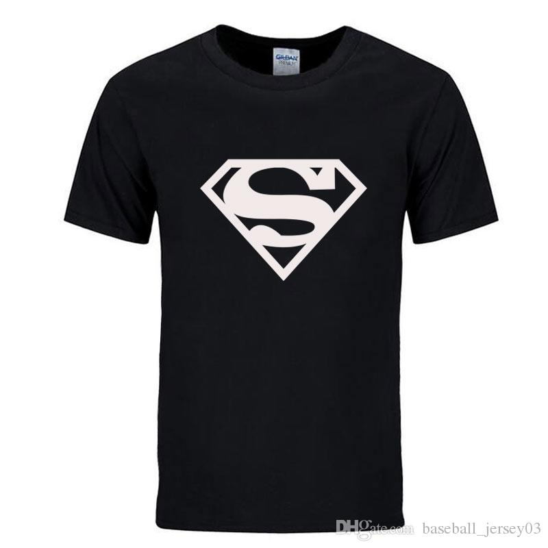 ae2e33a5f2a 2019 Workout Clothes Cotton Superman Gyms T Shirts Plus Size XS 2XL Mens T  Shirt Muscle Gyms Fitness Clothing Bodybuilding Tops From  Baseball jersey03