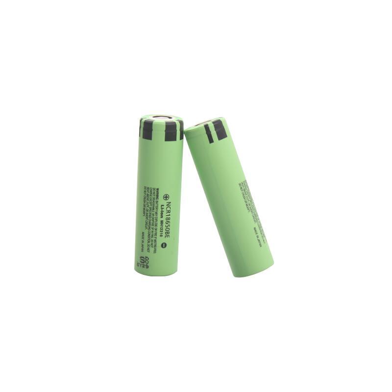 Las baterías recargables más vendidas NCR18650BE 3.6V 3200mAh 3.6A de descarga continua 18650 batería de litio para linterna LED