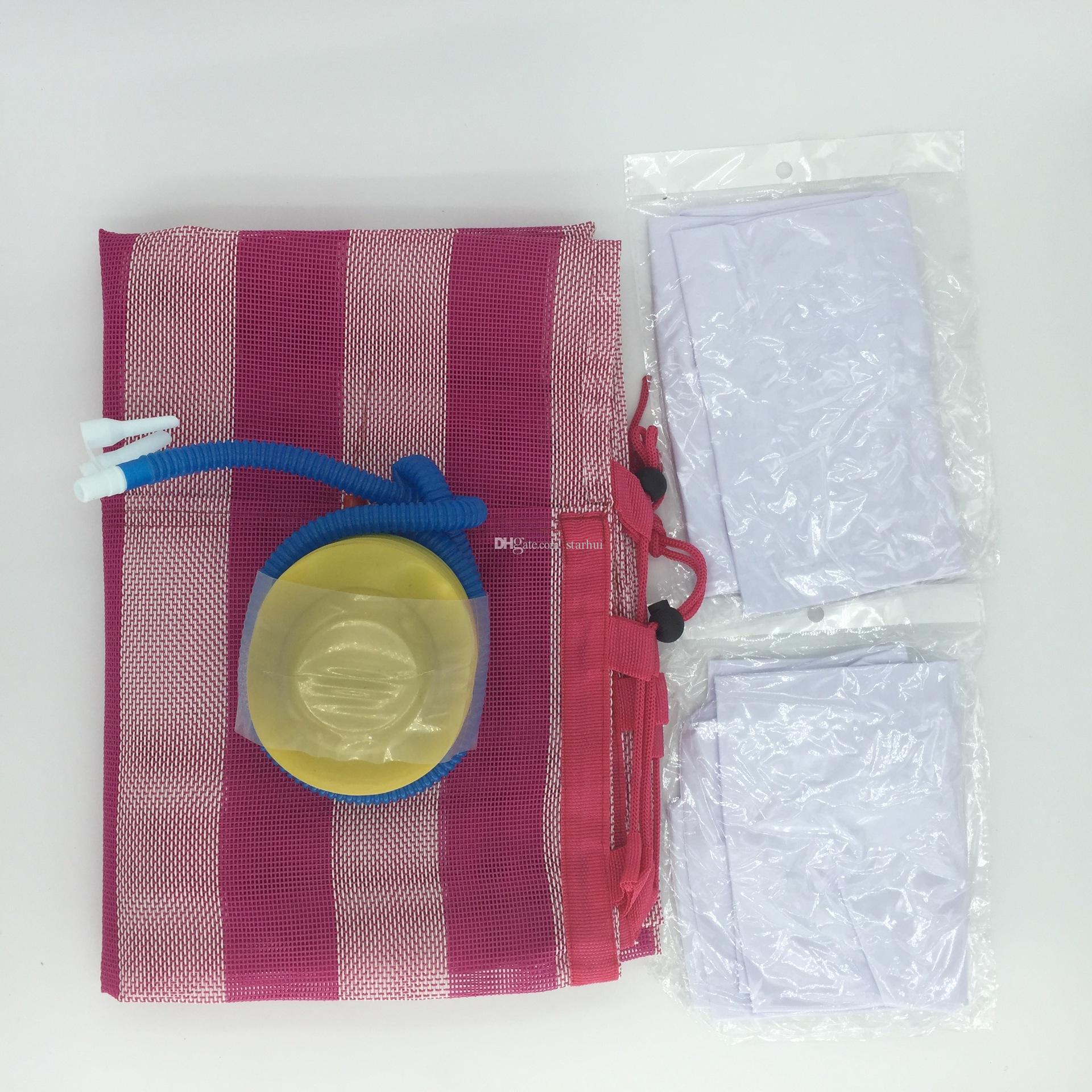 Piscina flotante inflable de la cama de las piscinas de la hamaca del agua de la moda para la playa que juega la herramienta 70 * 132cm WX9-591