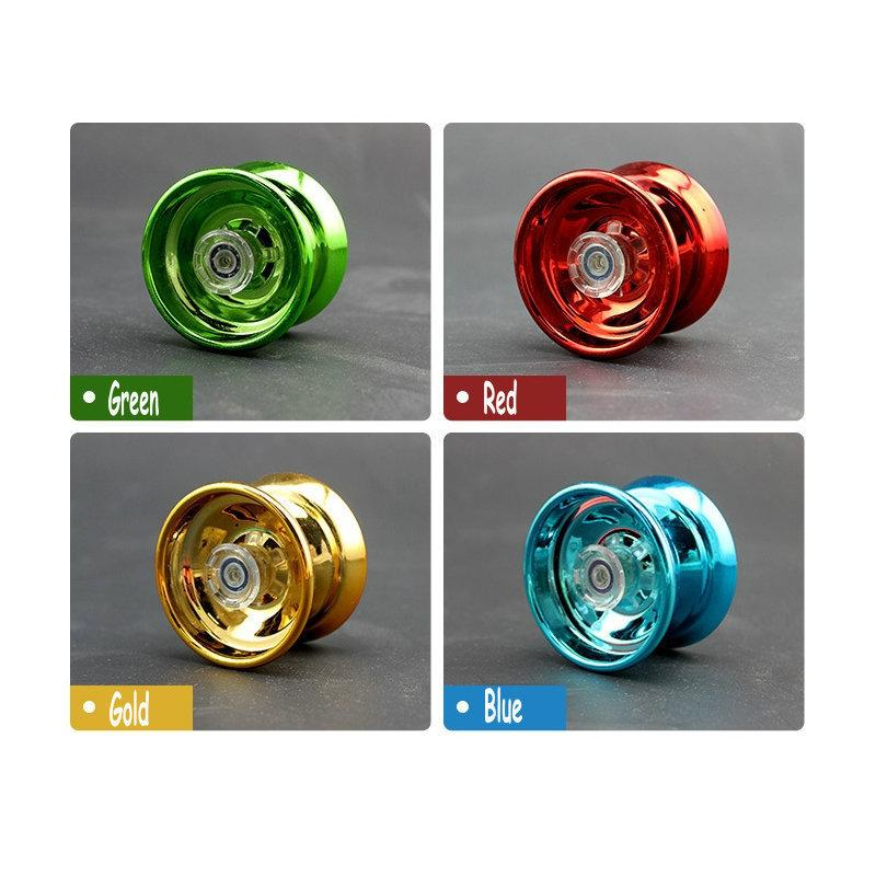 New Alloy Speed YOYO Ball Trick Yo-Yo Clutch Popular Mechanism String Bearing Fun Professional Kid Toy Gift Color Random