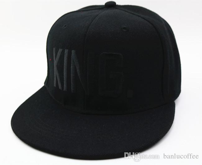 Nouvelle marque nouvelle vente chaude QUEEN KING basdeball casquettes chapeaux hip hop QUEEN lettre casquettes amoureux snapback chapeaux de chapeau de soleil
