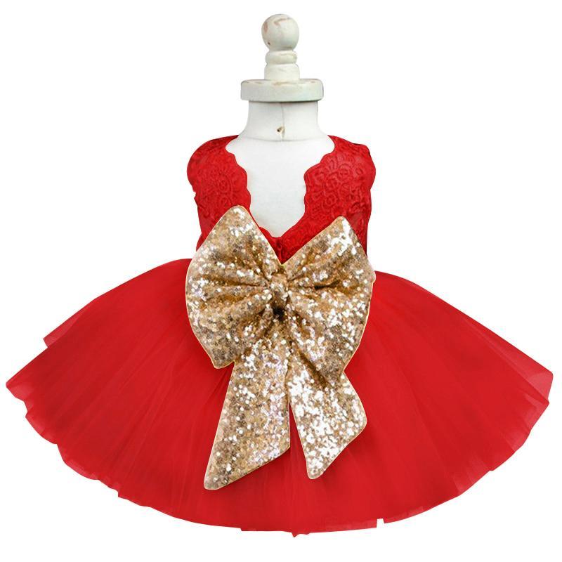 87d4cab5ef2e 2019 Fancy Baby Girl Christmas Dress Frock Designs Newborn 1st ...