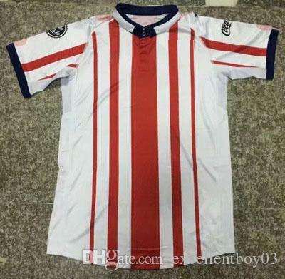 quality design c61ac 8fcb6 S-2XL Chivas Jersey Men's home away soccer shirts chivas de guadalajara  football uniforms soccer jersey 18 19 chivas A1
