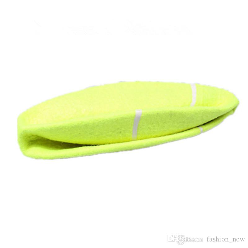 24CM Giant Tennis Ball For Pet Chew Toy Big Inflatable Tennis Ball Signature Mega Jumbo Pet Toy Ball Supplies Outdoor Cricket Hot Sale