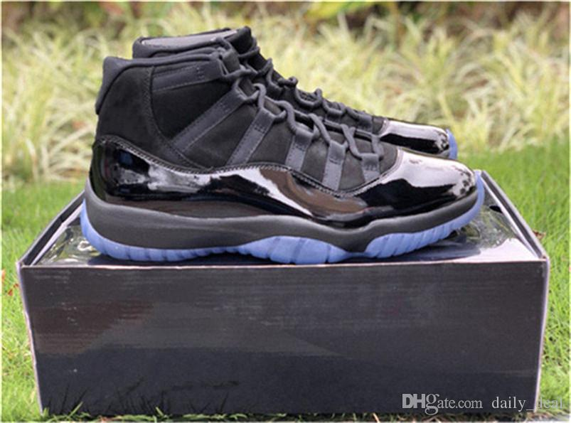 2018 Release Cap And Gown 11 Prom Night Blackout 11s Basketball