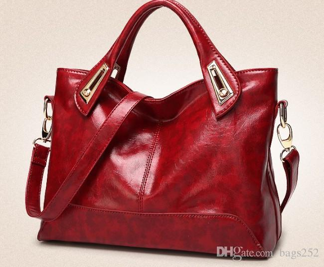 pu leather handbags women shoulder bags tassel hobo top-handle bags big ladies crossbody messenger bags
