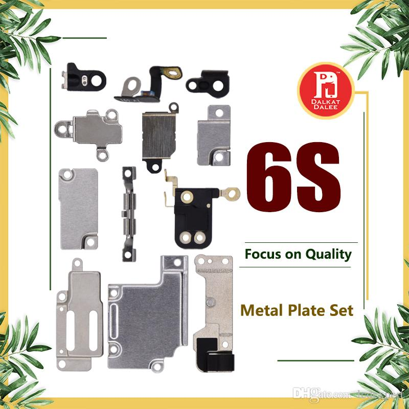 For iPhone 6S Full Body Inner Small Holder Bracket Shield Plate For iPhone 6s Metal Iron Body Parts Set Kit Phone Repair Parts