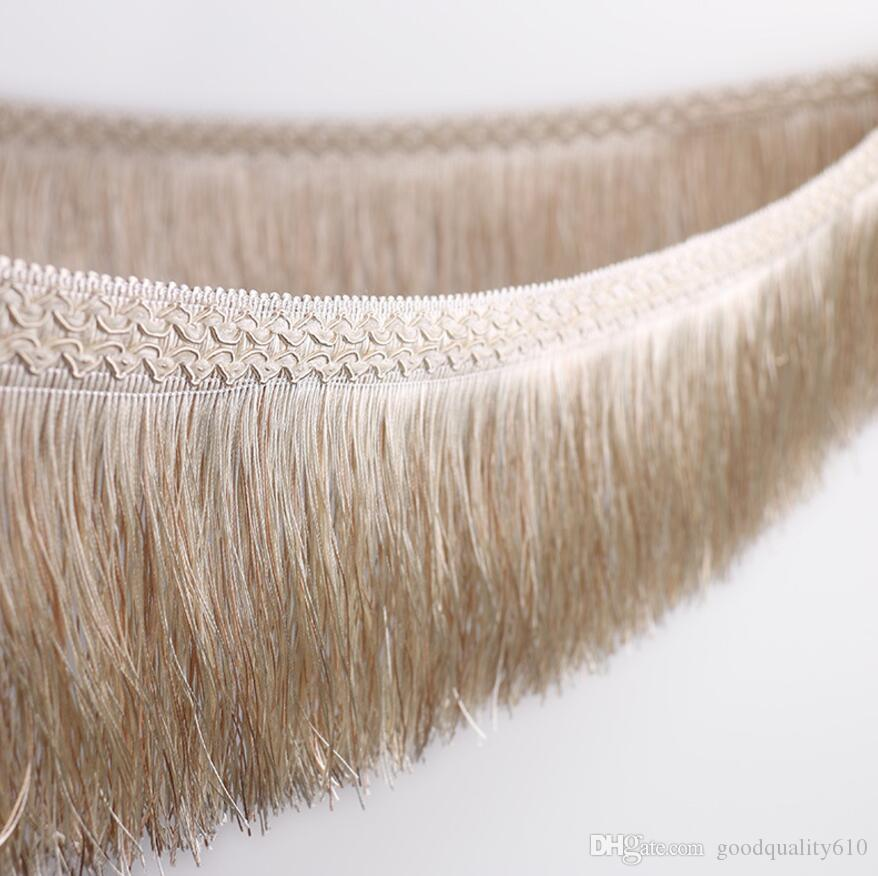 12Meter Tassel Pendant Hanging Chiffon Lace Trim Ribbon For Window curtains wedding Party Decorate Apparel Sewing DIY