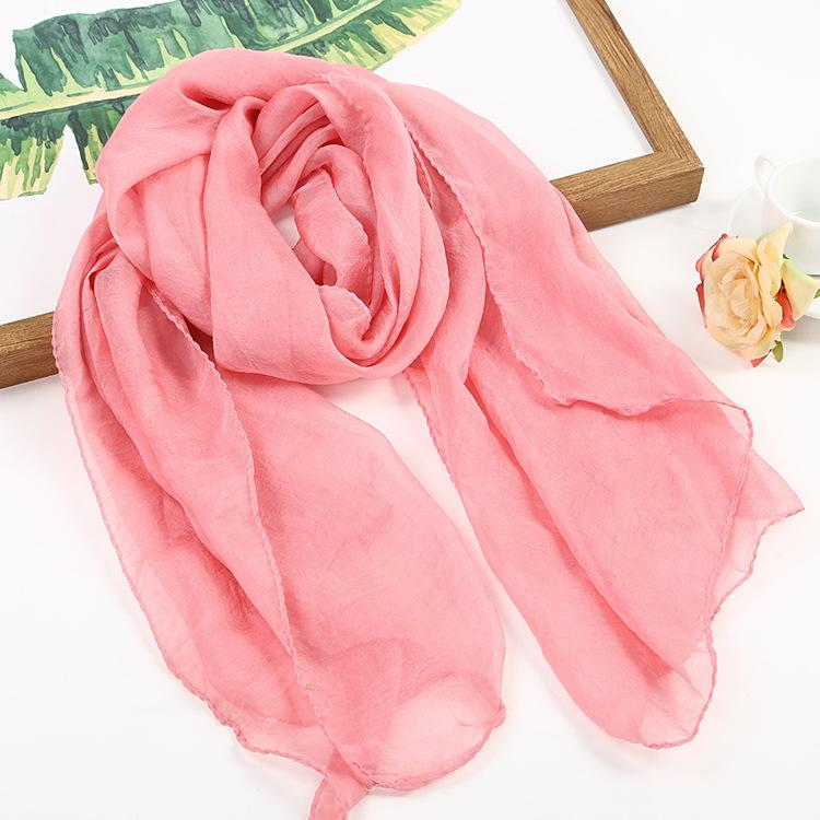 Elegant Scarves Female Ponchos and Capes Designer Women Fashion Long Scarves Luxury Summer Pashmina Poncho Chiffon Shawl