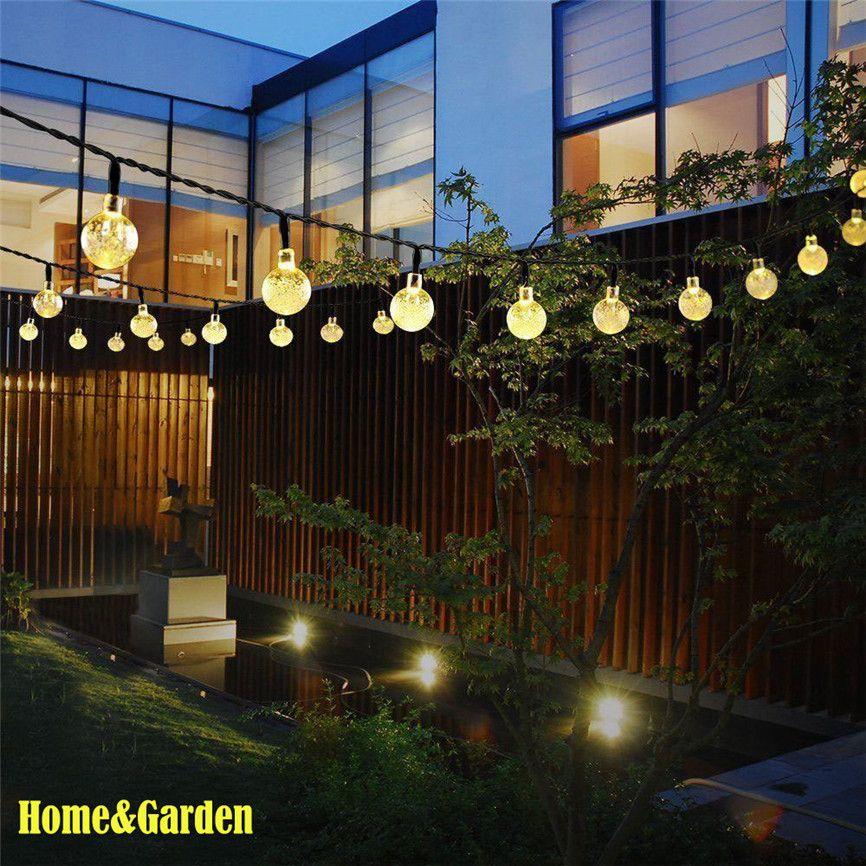 Großhandel Super Solar Powered 30 Led String Licht Garten Pfad Yard