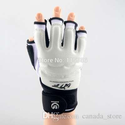 70ed73c68 Compre Luva De Taekwondo Luta Protetor De Mão Artes Marciais Esportes Luvas  De Boxe Guarda Mão Ferramenta De Proteção NL963 De Canada store