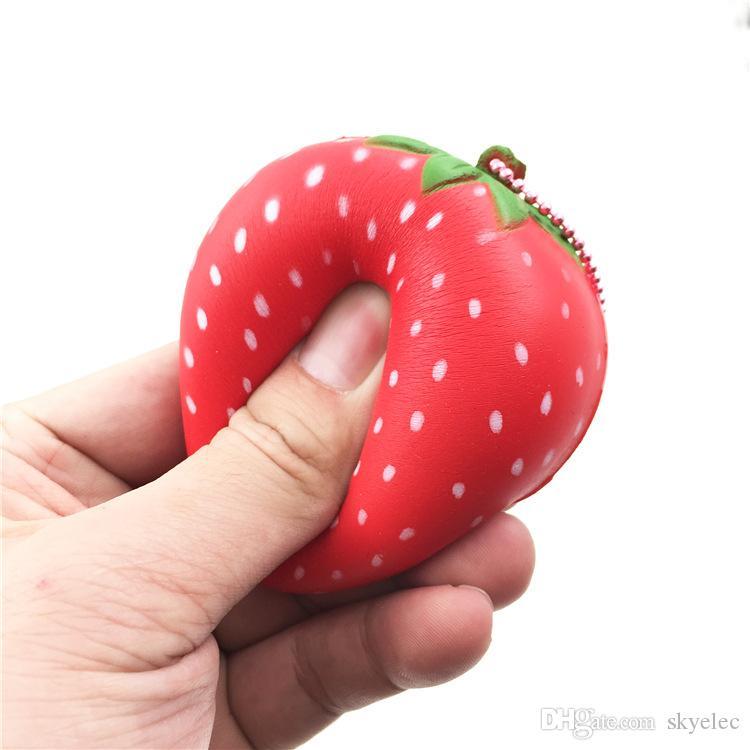 Squishy Jumbo Squishy Super Doux Lent Rising Squeeze Divers Fruits Forme Éponges Pu Simulation Pour Enfants Jouets