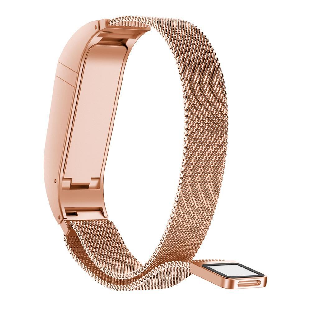 1d69f506a21 Acheter Bracelet Pour Fitbit Flex 2 Sangle Milanese Magnétique Boucle En  Acier Inoxydable Smart Band Accessoires Réglable Grande Taille Ceinture  MA23f De ...
