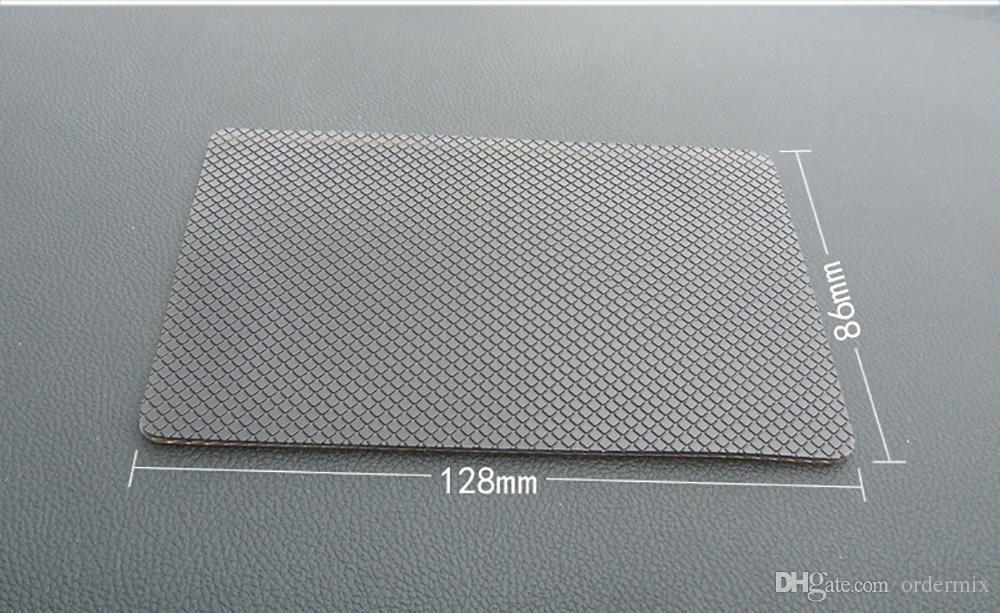 Auto Ornament PU Auto-Innenraum Armaturenbrett-Antirutsch-Matte Universal-Anti-Rutsch-klebrige Auflage für GPS-Schlüssel-Handy-Halter 12.8cm * 8.6cm