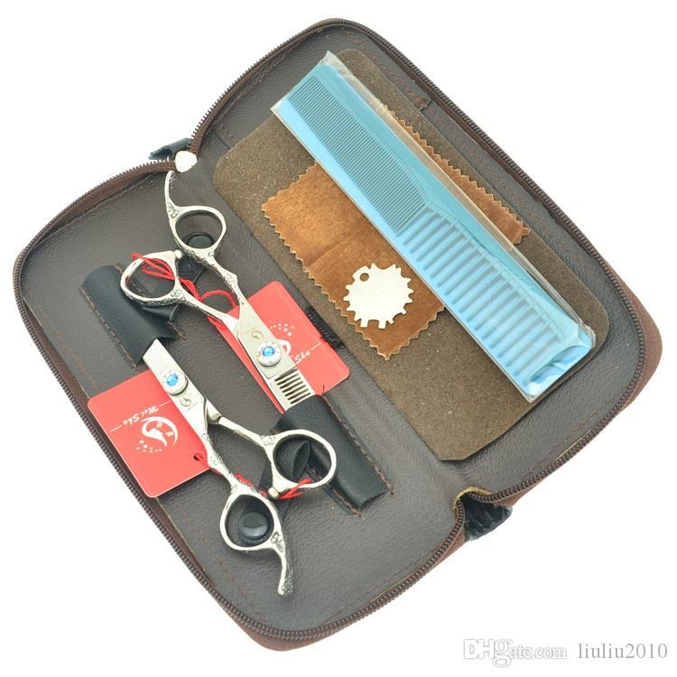 6,0 Zoll Meisha Barbers Professionelle Linke Hand Haarscheren Hair Cut Schönheit Salon Schneidescheren Ausdünnung Tijeras Friseurwerkzeuge HA0385