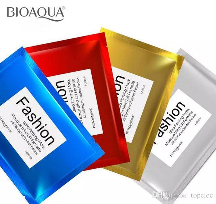 Famous cosmetics BIOAQUA Fashion Facial Mask 30g Children's facial silk protein mask Cosmetic Whitening Facial Multi-colors