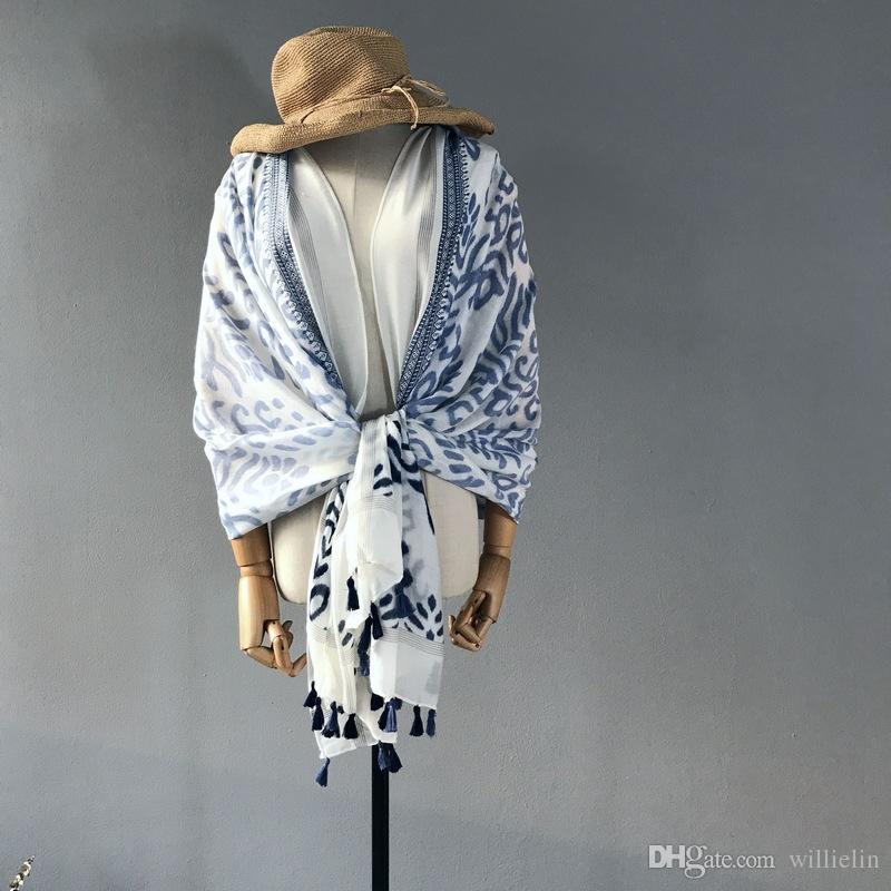 2017 Nouvelle robe des femmes sud-coréennes au début de l'automne de a une longue écharpe fw-913