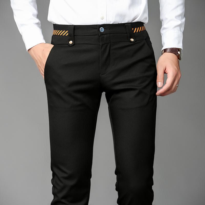 d8e67228fc7962 2019 2017 New Design Brand Lounge Pants Men Dress Pants Slim Fit Work Long  Male Trousers Lightweight Hight Quality Men Formal Pant From Linglon, ...