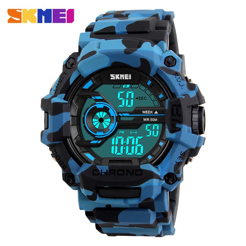92d6f917d82 SKMEI Men Sports Watches Multifunction LED Fashion Digital Wristwatches 50M  Waterproof Outdoor Watch Man Relogio Masculino 1233 Men Sports Watches ...