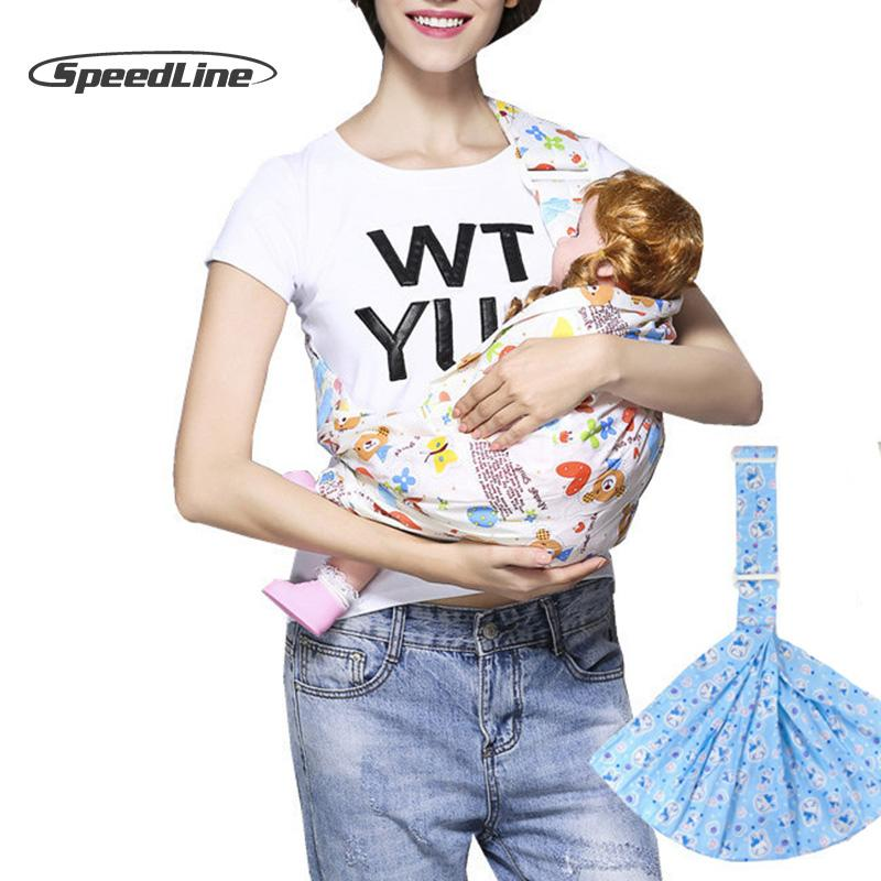 760e60d908c 2019 Breathable Cotton Cross Hatch Baby Carrier Baby Wrap Swaddling Kids  Nursing Papoose Pouch Front Carry Sling Newborn Bag From Fkansis