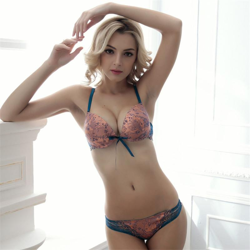 f4bdeb0a88d New Style Underwear Women Set Explosion Models Super Gathered Sexy Bra Suit  Generous Beautiful Underwear Lingerie Set S1012 Bras And Panty Sets Matching  Bra ...