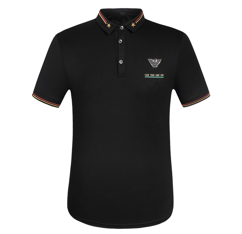 f76429fe1 2019 Luxury Brand 2018 Italian Designer Summer Pop Men'S Short Sleeved  Cotton Lapel Letter Printing T Shirt Casual POLO Shirt Top Tae From  Energy_shop, ...