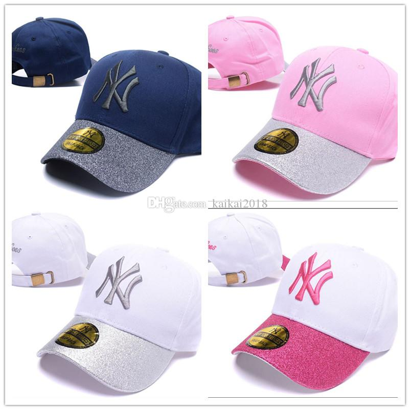 2018 Cheap NY Baseball Cap Embroidery Letter Sun Hats Snapback Hat ... cedf9c356d4