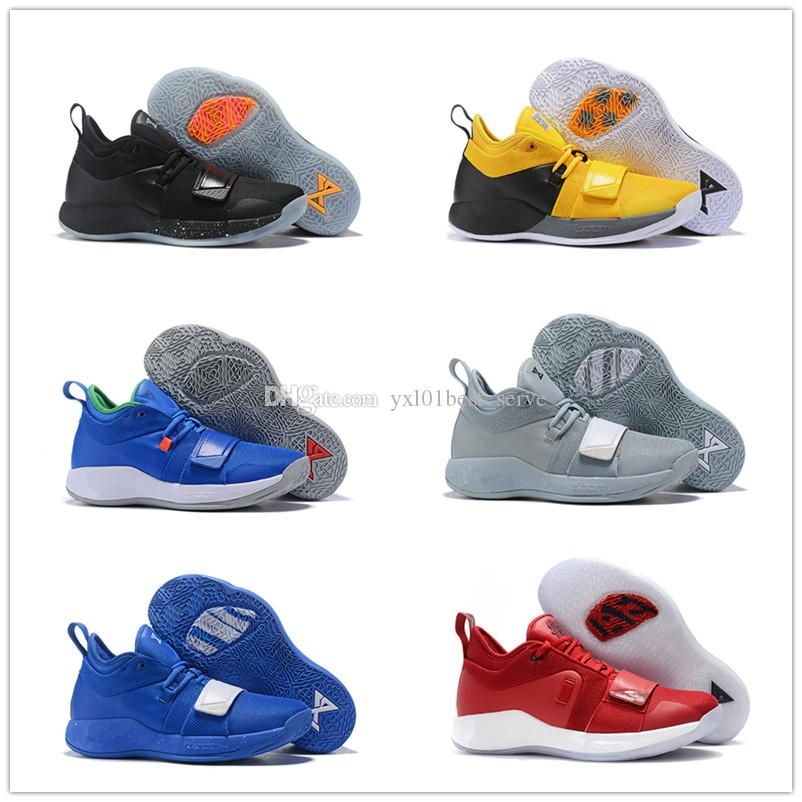 ea46f73cefb 2018 New Arrival Paul George 2.5 Wolf Grey PG Hornets Basketball Shoes for  Good Quality Multicolor Mens Luxury Designer Sneakers EUR 40-46 Paul George  2.5 ...