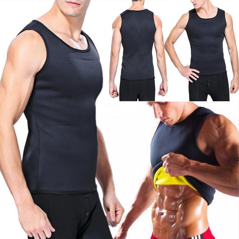 828d0bf97cf0 2019 Fashion Men Weight Loss Slimming Shapers Tanks Men Body Shaper Vest  Trimmer Tummy Shirts Shaperwear From Salom