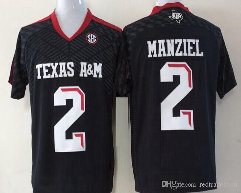 Camisetas de fútbol americano de Texas AM Aggies College 15 Myles Garrett 2 Johnny Manziel 9 Ricky Seals-Jones 40 Von Miller University Camisetas de fútbol
