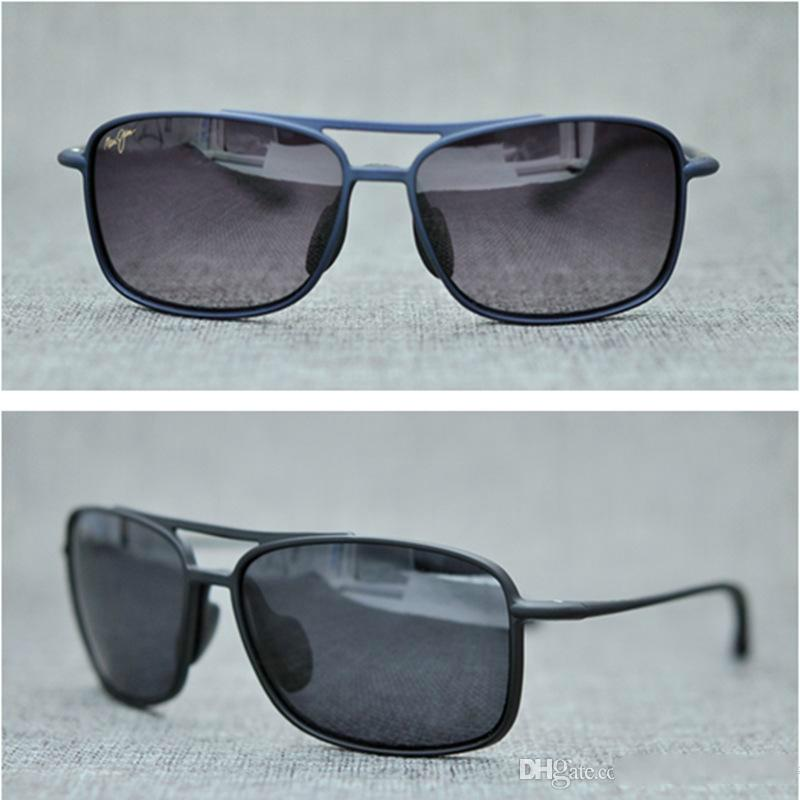 e7d28d89aa1 Brand Designer-2018 Maui Jim Sunglasses 407 Breakwall Sunglasses Rimless  Lens MJ Men Women TR Sunglasses Driving Aviator with Case MJ407 Sunglasses  Men s ...