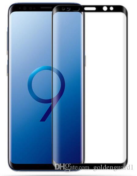 Protection Ecran Telephone S9 Incurvé Pleine Couverture En Verre Trempé  Pour Samsung Galaxy S9 Plus S8 Note 8 3d Incurvé Pleine Couverture En Verre  Trempé ... b8a524cb9134