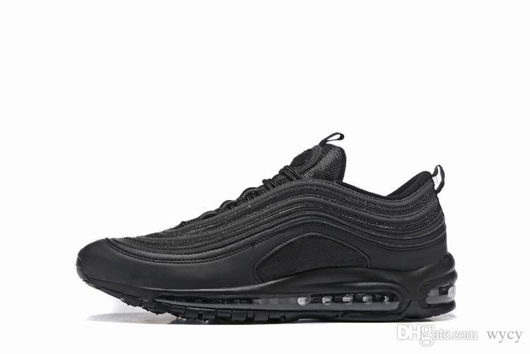 97 Горячие сбывания новые люди идущие ботинки подушки 97 KPU пластичные дешевые ботинки тренировки способа напольные sneakers US 7-12