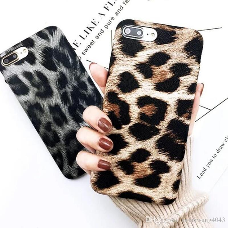 Luxury Leather Leopard Printed Case For IPhone X XR XS Max Iphone 7 8 6 6S  Plus Case PU Hard PC Cover Women Cover Shell Skin GSZ480 Phone Cover  Customized ... b2e228f2c1