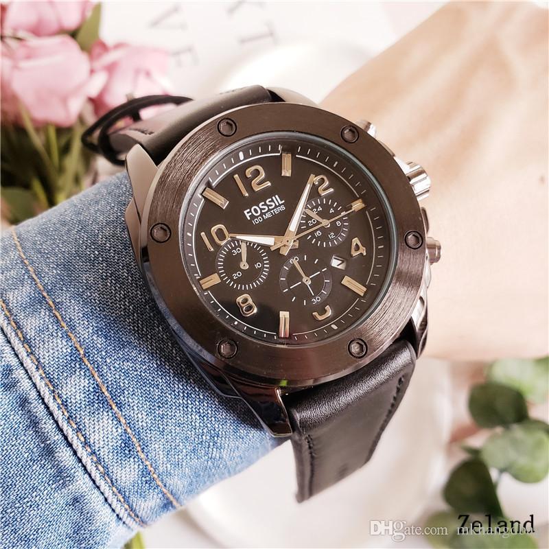 a1cc4a5b331b Compre FOS  SIL Nuevo Hombre Reloj Militar De Acero Inoxidable De Lujo  Casual Reloj De Pulsera De Acero Reloj De Cuarzo Reloj Masculino Marca Reloj  Big Bang ...