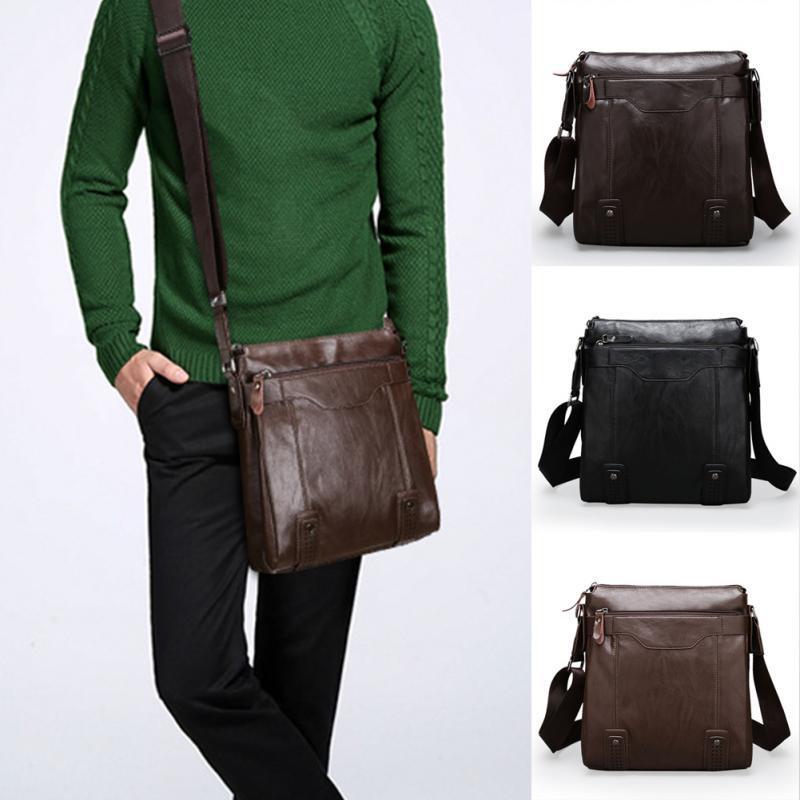 Pu Leather Men S Messenger Bags Man Portfolio Office Bag Quality